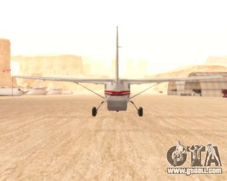 Cessna 208B Grand Caravan for GTA San Andreas right view