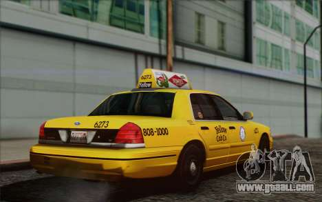 Ford Crown Victoria LA Taxi for GTA San Andreas left view