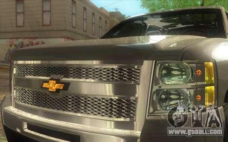 Chevrolet Cheyenne LT 2012 for GTA San Andreas back view