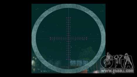 Night vision sniper scope for GTA 4