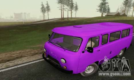 UAZ 2206 Loaf for GTA San Andreas