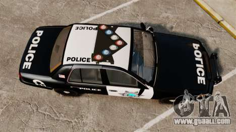 Ford Crown Victoria Liberty State Police for GTA 4 right view