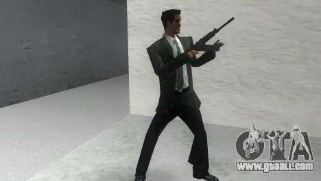Smoothbore Shotgun Saiga 12 k for GTA Vice City