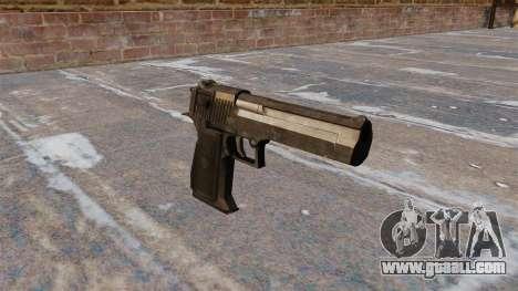 Desert Eagle Pistol MW3 for GTA 4
