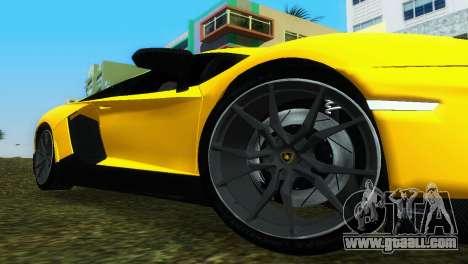 Lamborghini Aventador LP720-4 50th Anniversario for GTA Vice City right view