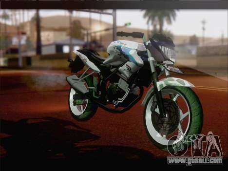 Honda CB150R StreetFire for GTA San Andreas left view