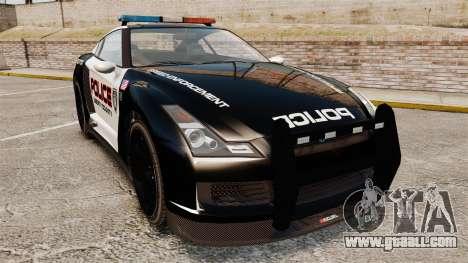 GTA V Police Elegy RH8 for GTA 4