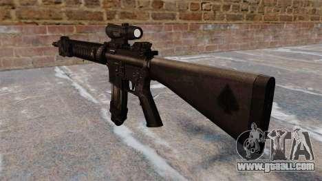 The M16A4 assault rifle for GTA 4 second screenshot