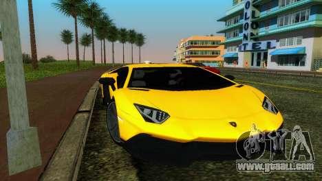 Lamborghini Aventador LP720-4 50th Anniversario for GTA Vice City
