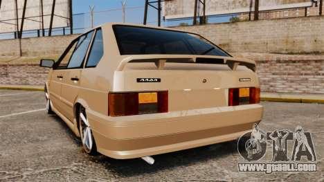 Vaz-2114 for GTA 4 back left view