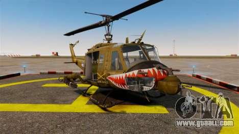 Bell UH-1 Iroquois v2.0 Gunship [EPM] for GTA 4