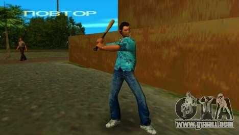 Baseball bat from GTA IV for GTA Vice City third screenshot