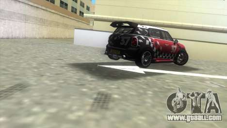 Mini Countryman WRC for GTA Vice City back left view