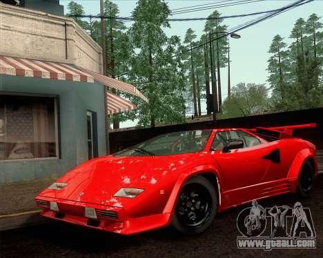 Lamborghini Countach LP500 Quattrovalvole 1988 for GTA San Andreas right view