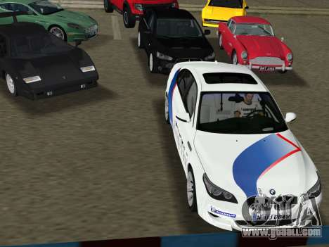 BMW M5 (E60) 2009 Nurburgring Ring Taxi for GTA Vice City right view