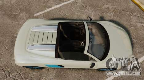 GTA V Obey 9F Spider for GTA 4 right view
