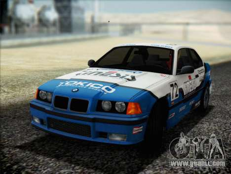 BMW M3 E36 for GTA San Andreas engine