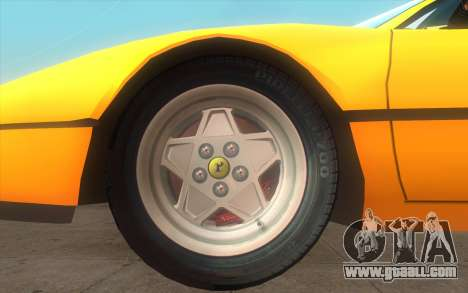 Ferrari 328 GTB for GTA San Andreas back left view