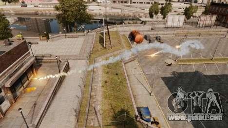 Rapid-fire rocket launcher for GTA 4 second screenshot
