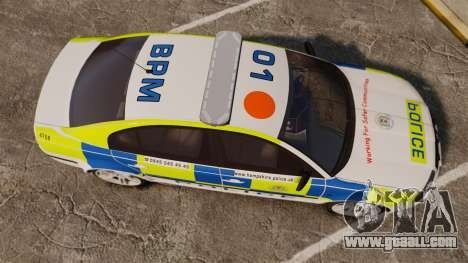 Skoda Superb 2006 Police [ELS] Whelen Justice for GTA 4 right view