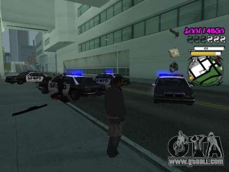 HUD for GTA San Andreas seventh screenshot