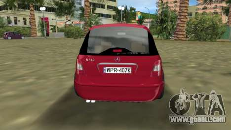 Mercedes-Benz A-Class for GTA Vice City left view