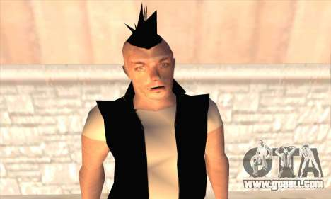 Till Lindemann for GTA San Andreas third screenshot