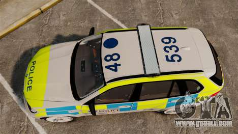 BMW X5 Police [ELS] for GTA 4 right view