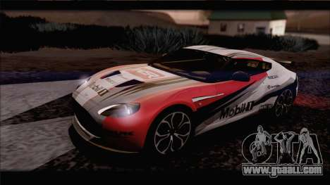 Aston Martin V12 Zagato 2012 [IVF] for GTA San Andreas inner view