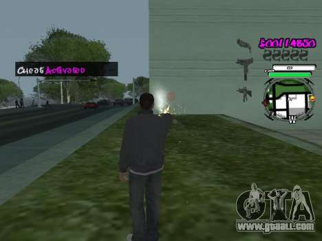 HUD for GTA San Andreas third screenshot