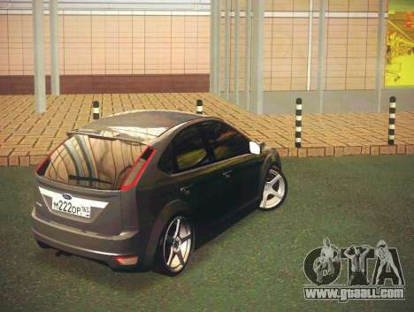 Ford Focus 2009 LT for GTA San Andreas back left view