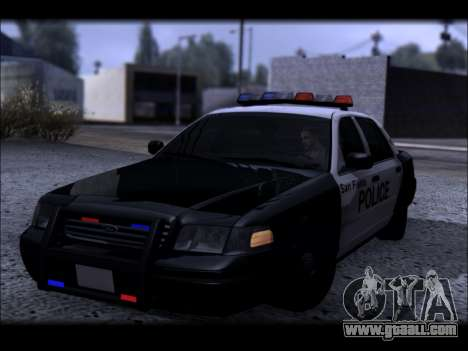 Ford Crown Victoria 2005 Police for GTA San Andreas side view