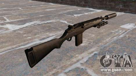 The M14 semi-automatic rifle for GTA 4 second screenshot