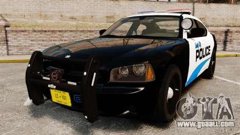 Dodge Charger 2010 Police [ELS] for GTA 4