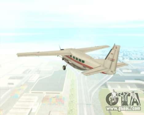 Cessna 208B Grand Caravan for GTA San Andreas side view
