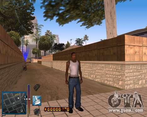 C-HUD by Mike Renaissance for GTA San Andreas forth screenshot