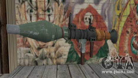 The RPG-7 for GTA San Andreas