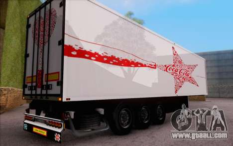Trailer Pack for GTA San Andreas right view