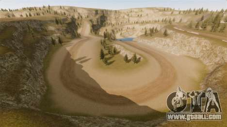 Cliffside Location Rally for GTA 4 third screenshot