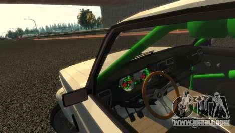 VAZ 2105 for GTA 4 upper view