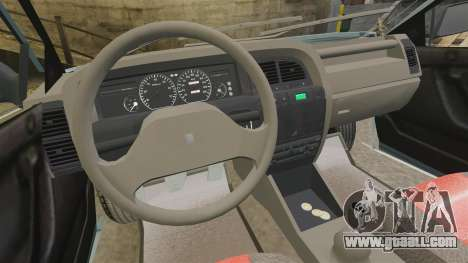 Citroen Xantia 1999 for GTA 4 back view
