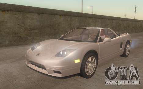 Acura NSX for GTA San Andreas
