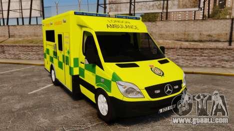Mercedes-Benz Sprinter [ELS] London Ambulance for GTA 4