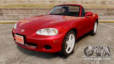 Mazda (Miata) MX-5 for GTA 4