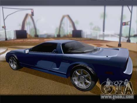 Acura NSX for GTA San Andreas right view