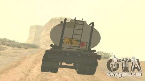 Trailer for GTA 5 Barracks ver. 2 for GTA San Andreas left view