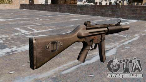 HK MP5A5 submachine gun for GTA 4 second screenshot
