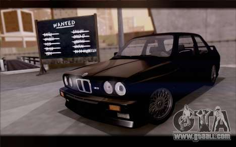 BMW M3 E30 Stock Version for GTA San Andreas side view