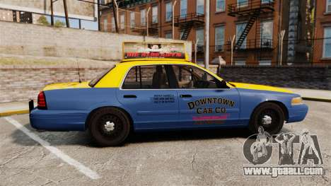 Ford Crown Victoria 1999 GTA V Taxi for GTA 4 left view