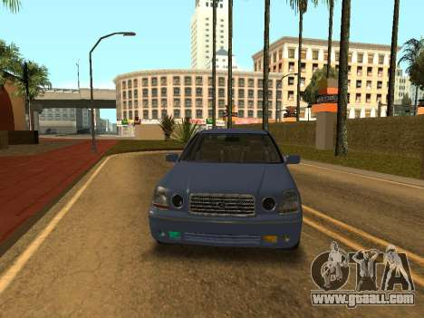 Toyota Progres for GTA San Andreas back left view